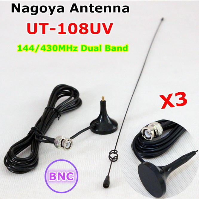 Аксессуары для раций NAGOYA 108UV BNC Kenwood Motorola Icom BaoFeng WouXun HYT UT-108UV