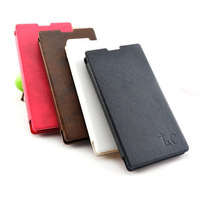 Free Shipping (5pcs/lot) Top Quality Simulation leather case Classic style for Huawei G710 cell phone