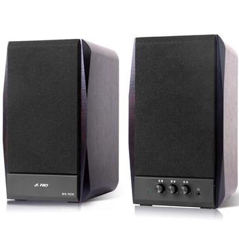 F & D / Fen R235 full wooden speaker stereo 2.0 active multimedia speaker stereo HI-FI subwoofer(China (Mainland))
