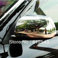 Free shipping! For Toyota Highlander 2009 2010 2011  2012  chrome ABS plastic car styling rearview mirror cover accessories