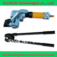 Steel belt strapping tools equipment,pneumatic tensioner+manual straps sealer,hand held packaging machinery to steel works