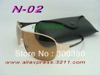 1pcs high quality brand sun glasses designer fashion Men women's gold frame sunglasses original box