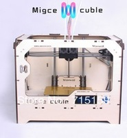 Аксессуары для источников питания Migce cuble3D playing stereoscopic 3D printer replicatorG double plywood craft kit