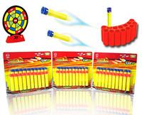 Manual soft bullet gun bullet eva bullet bag 20 peases general soft bullet toy