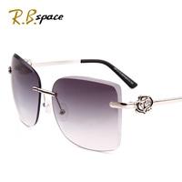 2013 fashion rimless sunglasses fashion women's exquisite carved three-dimensional diamond quality women's sunglasses