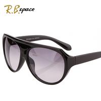 Fashion sun glasses male fashion star style sunglasses female leopard print large frame vintage sunglasses