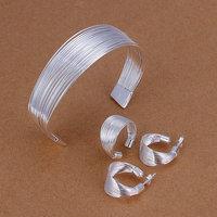 Серьги-кольца 925 E007