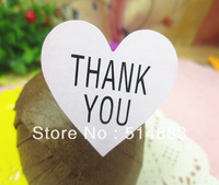 Heart Shape Pink Color Thank You Printing Seal Sticker,Bakery & Biscuit Sticker,1200pcs/lot, Free shipping,LTK-151