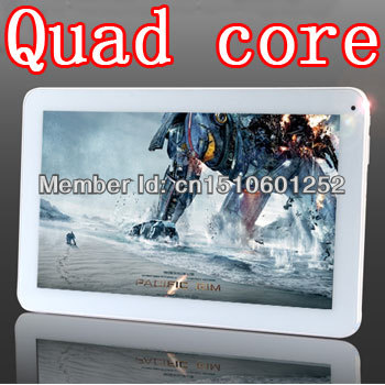 Quad Core 10 inch (16:9) IPS Screen Android 4.2 1.5GHz DDR2GB HD16GB Wifi Camera HDMI Tablet PC PCS(China (Mainland))
