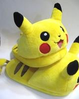 Pokemon Pikachu Plush Shoes Slippers 10inches Stuffed Anime Gift PNSH1579