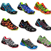 2014 New MEN SALOMON zapatillas XT Hawk Hiking shoes outdoor sports boots men's Walking athletic Shoes Drop Shipping Size:40-46