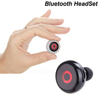 Design The Wold's Smallest A2dp MUSIC Bluetooth Headset Mini HD Wireless Universal For Mobile Phone