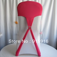 wholesale wedding spandex chair cover cap with buckle, 2014 new design, 100 pieces per lots