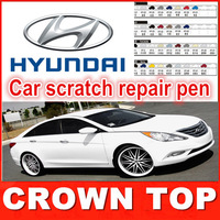 2013 new arrival Car scratch repair pen, , auto paint pen for Hyundai ix35,i30,accent,elantra,solaris,tucson,free shipping