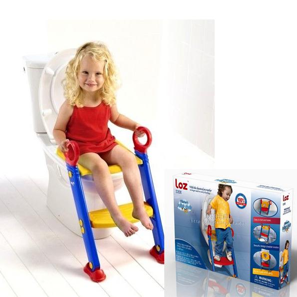 Baño Inodoro En Inglés:Potty Training Toilet Seat with Ladder