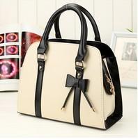 2014 Fashion Spring Candy Colors Women's Handbag Shoulder Message Bag Cut Bow  Bag Designer's Handbag