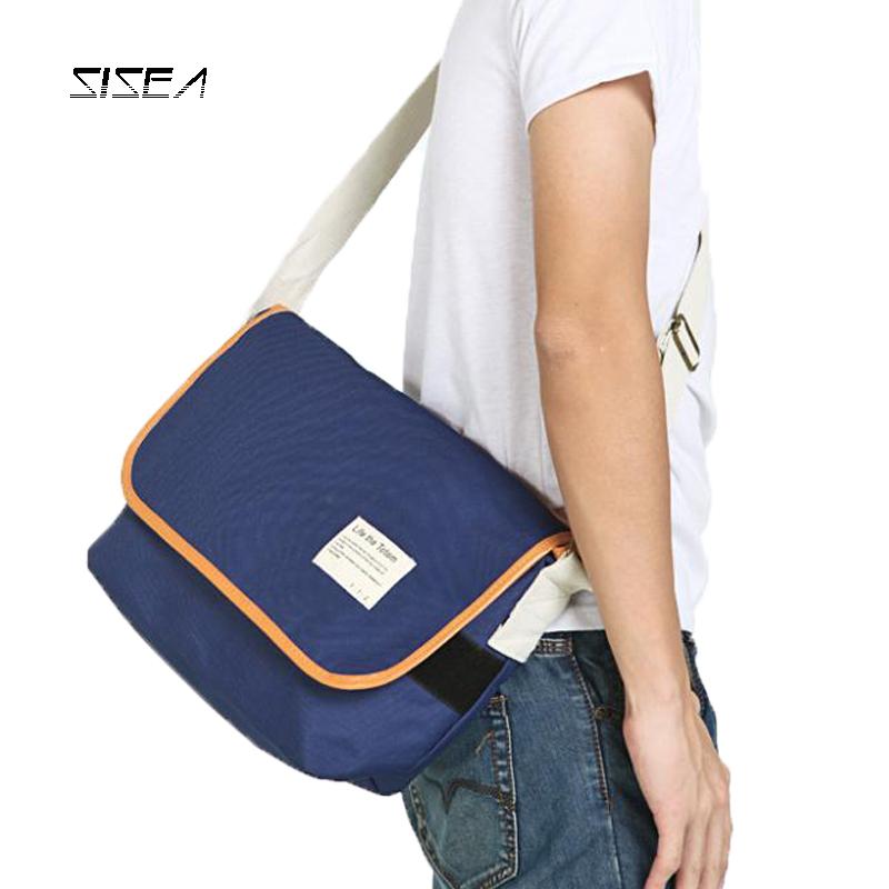fisher price luis bag sac bandouliere bolsa de couro Sisea man male shoulder messenger school student canvas casual(China (Mainland))