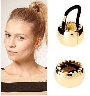 2014-hotest-Elastic-hairband-Fashion-personality-statement-metal-hair