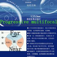 1.56 Glasses progressive multifocal clear lenses glasses hyperopia optical lens,internal polycarbonate presbyopia resin myopia