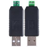 1 pcs USB to RS485 USB-485 Converter Adapter Support Win7 XP Vista Linux Mac OS
