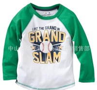 18M-6T 6 pcs/lot Kids Wear BABYG*P long-sleeved T-shirt Boy t shirt Children long sleeve t-shirt boy tops baby wear