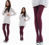 Dark Red 5pair/bag Sexy Size L Lady Soft ElasticThin Nylon Spandex Pantyhose Stockings Tight CA008-XL-shenhong Free Shipping