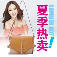 2014 women genuine leather handbag preppy style scrub female genuine leather one shoulder bag female messenger bag small bag