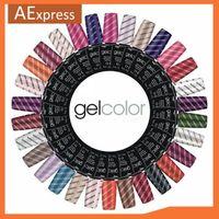 Soak Off UV Nail Gel Polish for Nail Arts, Top Coat, Base Coat, 70 Colors Wholesale 108pcs/lot, DHL/TNT Free Shipping