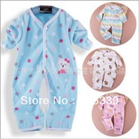 Hot sale Baby bodysuits baby rompers newborn baby jumpsuits mixed colors free shipping