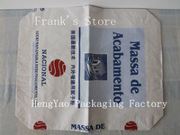 cement paper bag with valve,PP woven bag,chemical fertilizer bags