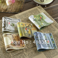 FEDEX HK 50 pcs/lot  Free Shipping+Wholesale Creative Banknotes personality doorstop, silicone,5 styles, with retail Packaging