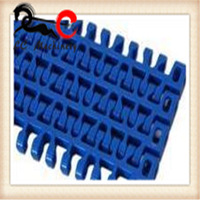 Plastic Flush Grid Modular Chain Conveyor Belt