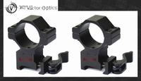 Vector Optics Tactical 30mm Quick Release Medium Riflescope QR 21mm Picatinny Mount Ring fit Leupold BSA Leapers NightForce etc