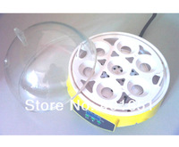 Free shipping 7 mini egg carrier small household mini 7 egg incubator mini incubator 110v/220v