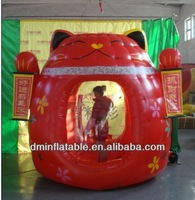2014 TOP quantity Inflatable money booth ( cash box )