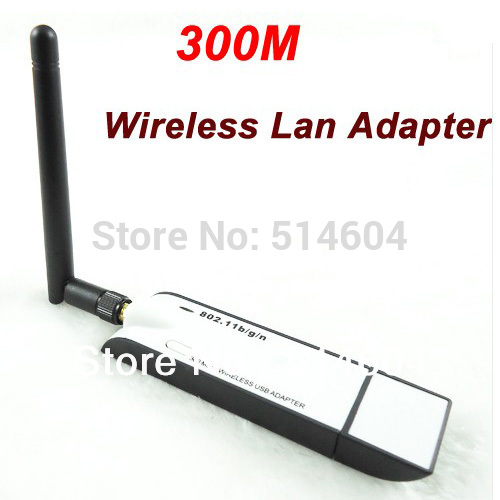 High power 300M Wifi USB Wireless Lan Adapter Card with 2db External Antenna 802.11b/g/n New SK133(China (Mainland))