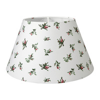1 piece flower pattern plastic,cotton, powder coating steel lamp cover