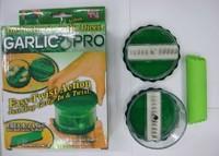 2014 new Garlic chopper The no-touch garlic pro Free E-Z Peel Garlic peal cutter Free shipping