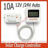 10A 12V 24V LS1024B Landstar Solar Charge controller with MT50 remote meter LCD Display