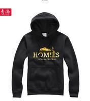2014 men/women's black famous brand hoodie homies sports 1569