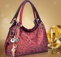 AR402 Hot Promotion! Special Offer PU Leather Restore Ancient Inclined Big Bag Women Cowhide Bag Shoulder