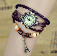 Vintage watch female bracelet watch male female form fashion table lovers table