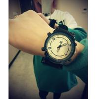 Lovers design chromophous ss1 multicolour pointer lovers design arrow women's watch quartz watch