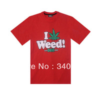 DGK I Weed T shirts Hot New style mens fashion T-shirts 6 styles short sleeve Free Shipping Size S-XXXL