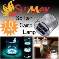 Free Shipping Solar energy lamp Solar LED lighting outdoor lights, solar camping lamp necessary  Fold  easy take Travel Light