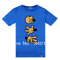 Booger kids T shirts leopard logo best quality men's cotton T-shirts 7 styles short sleeve Free Shipping Size S-XXXL