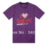 DGK I Love Haters T shirts top new designer mens womens T-shirts 5 styles short sleeve Free Shipping Size S-XXXL