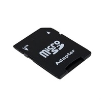 1 pcs  Micro SD TF to SD Card Adapter SDHC Memory TransFlash T-Flash