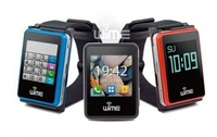 "Mini 1.5"" WIME NanoSmart Bluetooth Smart Watch Phone Support IOS Android Armband Cell Phone,Six Color"