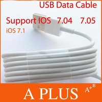 Freeshipping 20pcs/Lot For IOS 7 USB Data Cable Data Charging Cable For Iphone 5 5S 5C Support IOS 7 7.04 7.05